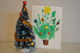 Christmas Crafts For Kids To Make Homemade Christmas Card Ideas To Do With Kids O Brisbane Kids
