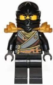 LEGO Ninjago: Minifigur Cole - Rebooted - mit Schulterrüstung und Schwert:  Amazon.de: Spielzeug