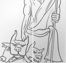 Sticker Olympische Goden En Mythologische Karakters Pixers We