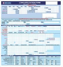 Bank Loan Proposal Template Fascinating 48 Loan Application Templates PDF DOC Free Premium Templates