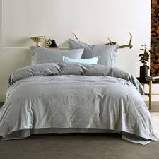 details about linen duvet cover pillowcases king queen twin cotton flax bedding set us size y1