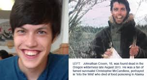 Chris Mccandless Diary Killing Killers Dying To Be Wild Johnathan Croom And Chris Mccandless
