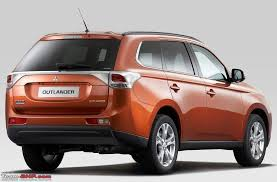 new car launches in early 2014Mitsubishi Outlander Diesel coming to India in early 2014  TeamBHP