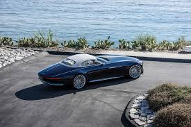 2018 maybach 6 cabriolet. plain maybach 2017 vision mercedesmaybach 6 cabriolet ev side in 2018 maybach cabriolet
