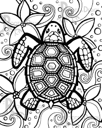 turtle coloring pages. Simple Coloring Innovation Sea Turtle Coloring Pages Adult Baby Printable Of A New On  Turtles Throughout N
