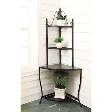 Indoor Kitchen Gardening Garden Landscaping Beautiful Vintage Wrought Iron Rack For