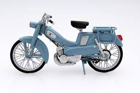 motobecane av65 1965 blue die cast model norev 182056