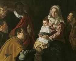Resultado de imagen de Pintura española Navidad