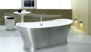 freestanding cast iron bathtub ideas bathtubs acrylic vs small remarkable the brass