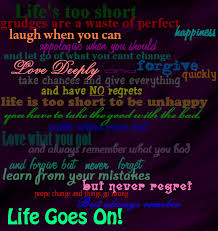 Life Goes On Quotes Fascinating Love Life Quotes Love Quote Picture