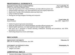 Awful Orthodontist Resume Dentists With Photos Sample India