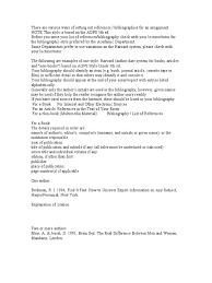 Havard Style Bibliography Citation