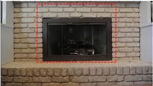Lowes Fireplace Glass Doors Issues With Lowes Glass Doors  Brick Fireplace Cover Lowes
