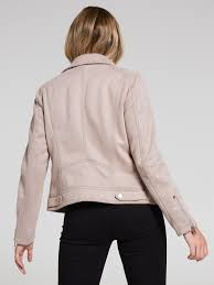image for isla suedette bonded jacket from just jeans