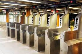 subway station turnstile. Contemporary Subway Stock Photo  Turnstile In Subway Station For Subway Station A