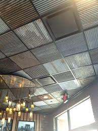 corrugated metal signs corrugated metal ceiling tiles fresh innovative drop panels