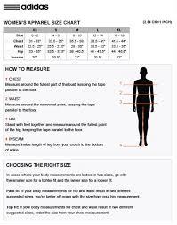Adidas Golf Shirt Size Chart Lady Condors Golf Clothing Options