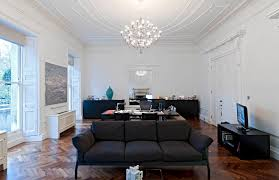 11 executive office with flos chandelier image
