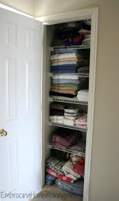 linen closet storage bins organization pictures shelving canada