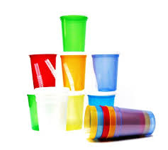 12 small 12 ounce translucent mix colors plastic drinking glasses lids straws tog3 plastics from us
