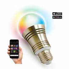 iphone controlled lighting. Bluetooth Smart LED Light Bulb Smartphone Controlled Dimmable Multicolored Color Changing Lights Works With IPhone IPad Apple-in Bulbs \u0026 Tubes From Iphone Lighting C