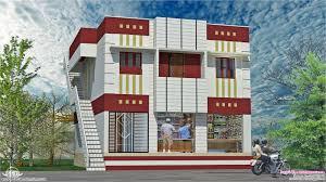House With Shop Design Floor Shops Feet Kerala Home Design Plans House Plans 16067