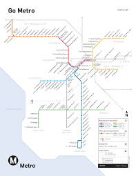 metro map of los angeles — critical commons