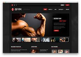 gym website design 20 best wordpress fitness themes 2017 for gym fitness centers and