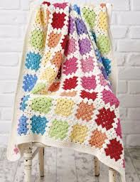 Granny Square Blanket Pattern Delectable Rainbow Granny Black Baby Blanket Crochet ⋆ Crochet Kingdom