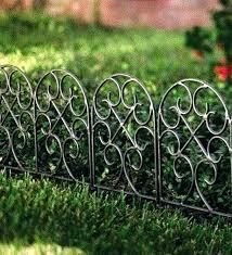 metal garden border edging