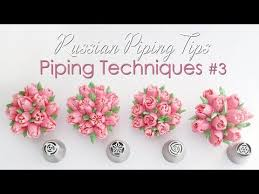 Russian Piping Tips Cupcake Piping Techniques Tutorial 3