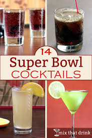 14 Super Bowl Cocktails  Mix That DrinkParty Cocktails In A Pitcher