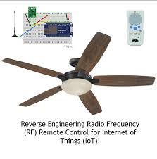 picture of reverse engineer rf remote controller for iot