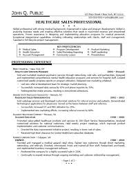resume for health care