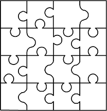 note from previous pinner blank puzzle i use a similar copy to have clients