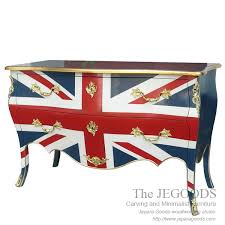 Union jack furniture Flag Uk Union Jack Chest Of Drawers The Jepara Goods Manufacture And Sell Union Jack Flag Furniture At Affordable Cost