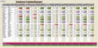 Training Tracking Template Excel Spreadsheet Courses Basecampjonkoping Se