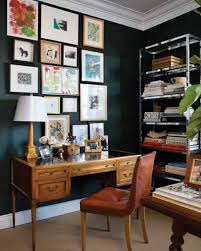 home office wall. Home Office , Great Wall Colors : Black Walls With