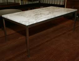 marvelous knoll coffee table with classic florence knoll marble and stainless steel coffee table at