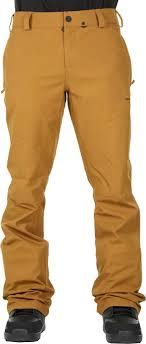 Volcom Pants Size Chart Volcom Klocker Tight Mens Snowboard Ski Pants L Caramel
