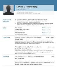 A Perfect Example Of Modern Resume Glimmer Free Resume Template By Hloom Com Resume