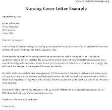 Sample Cover Letter For Rn Cover Letter For Nurse Job Cover Letter Nurse Sample Cover Letter