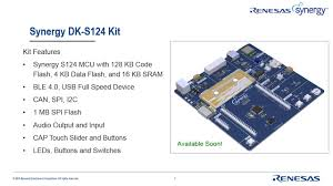 Renesas Design Selecting The Right Renesas Synergy Kit For Your Next Design