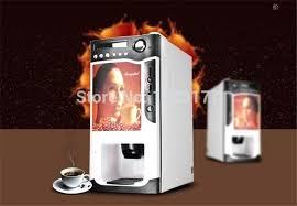 Automatic Tea Coffee Vending Machine Custom Automatic Coffee Vending Machine 48 In 48 Automatic Cup Falling Milk