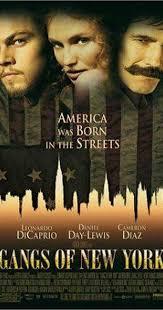 gangs of new york plot summary imdb