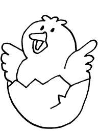 Chick Coloring Page Best Coloring Pages For Kids