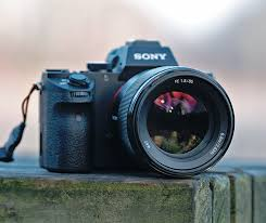 sony 85mm. the sony fe 85mm f/1.8 as shown on a7 mark ii