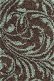 dalyn vn11 coffee brown swirls vine 4x6 tufted area rug approx 3 6 x5 6
