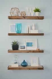 Floating Shelf Design Plans Diy Rustic Modern Floating Shelves Part One