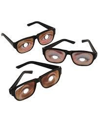 Asian eye joke glasses